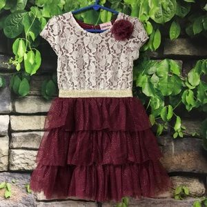 ✨Girls Lace Tulle Dress✨